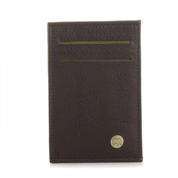 Panama N/S Credit Card Cover Brown
