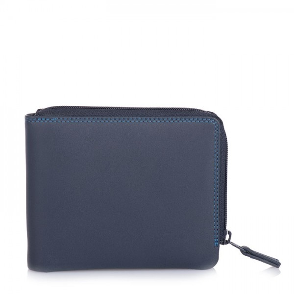 Zip Around Men's Wallet Kingfisher