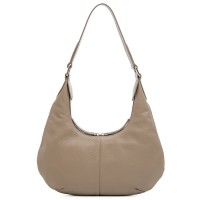 Bergamo Small Shoulder Bag Stone
