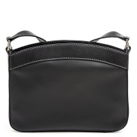 Siracusa Medium Shoulder Bag Black