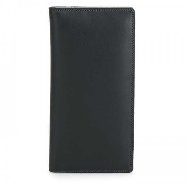 Breast Pocket Wallet Black Smokey Grey