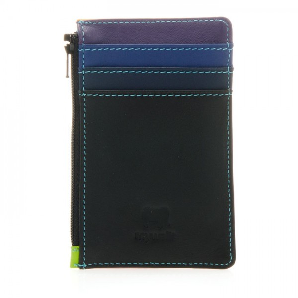 Credit Card Holder with Coin Purse Black Pace