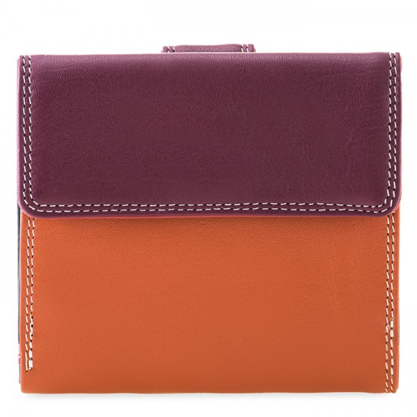 Tab and Flap Wallet Chianti