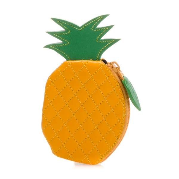 Fruits Pineapple Purse Yellow