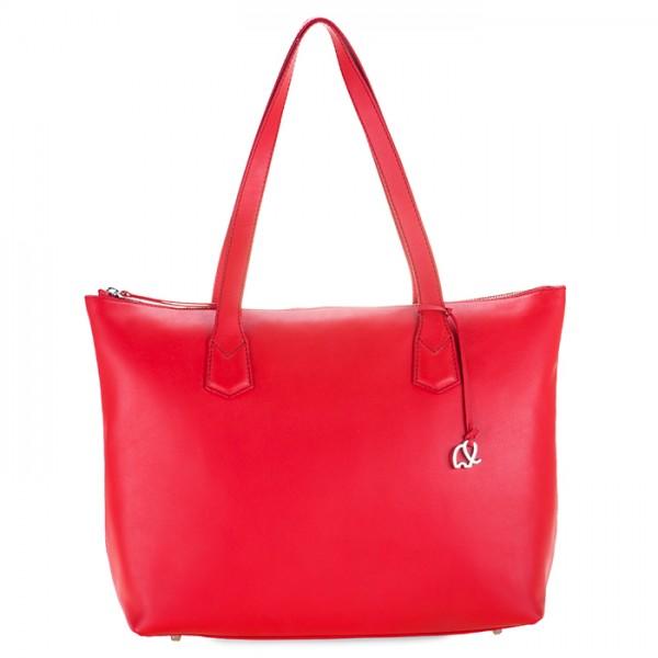 Sorano Large Shopper Red