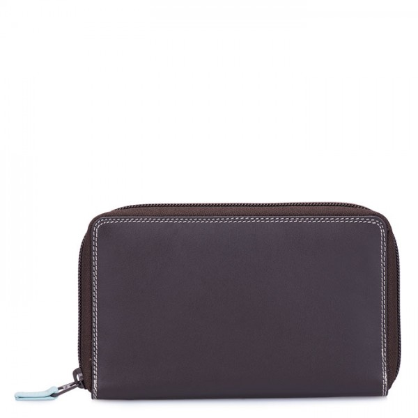 Zip Around Wallet w/Phone Pocket Mocha