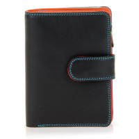 Medium Snap Wallet Black Pace