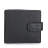 Tab Wallet w/inner leaf Black