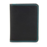 Credit Card Holder w/Plastic Inserts Black Pace