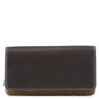 Flapover Wallet with Coin Section Mocha