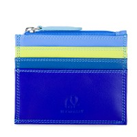Credit Card Holder w/Zip Pocket Seascape
