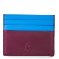 RFID Double Sided CC Holder Plum-Caribbean