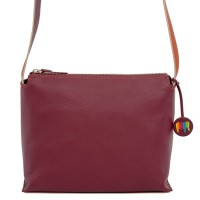 Ancona Leather Cross Body Chianti