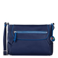 Marseille Zip Top Crossbody Navy