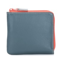 Small Zip Around Wallet Urban Sky