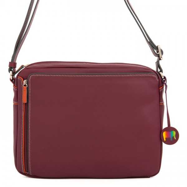 Medium Organiser Cross Body Bag Chianti