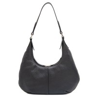 Bergamo Small Shoulder Bag Black