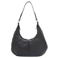 Bergamo Small Shoulder Bag Black