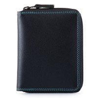 Men's Coin Tray Wallet Black Pace