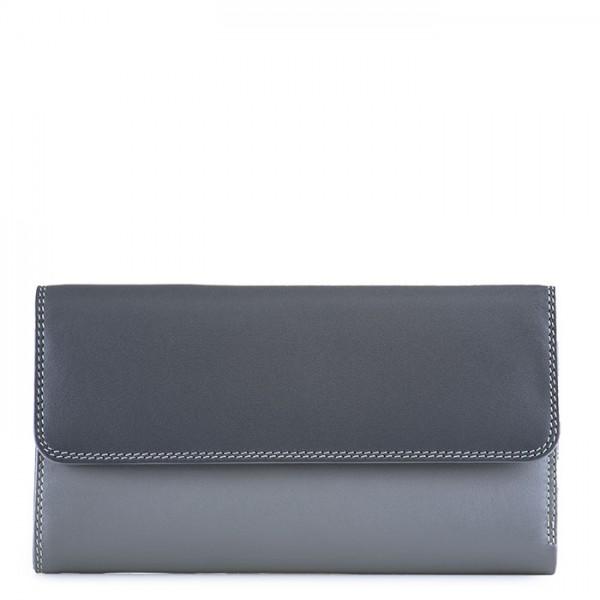 Tri-fold Zip Wallet Storm