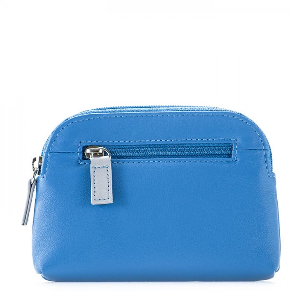 RFID Large Coin Purse River Blue