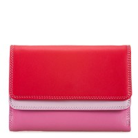 Double Flap Purse/Wallet Ruby