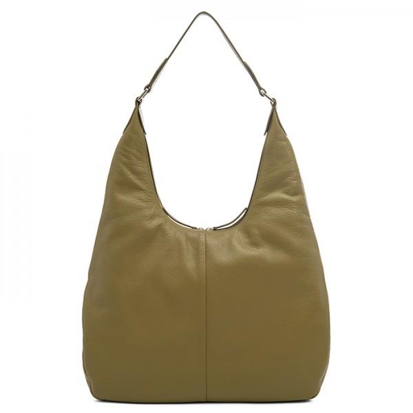 Bergamo Large Shoulder Bag Olive