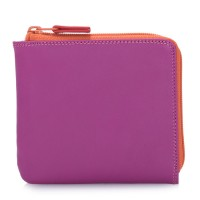 Small Zip Around Wallet Sangria Multi