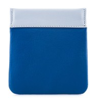 Snap Coin Pouch Denim