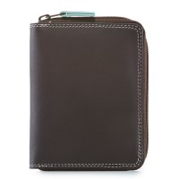 Men's Coin Tray Wallet Mocha