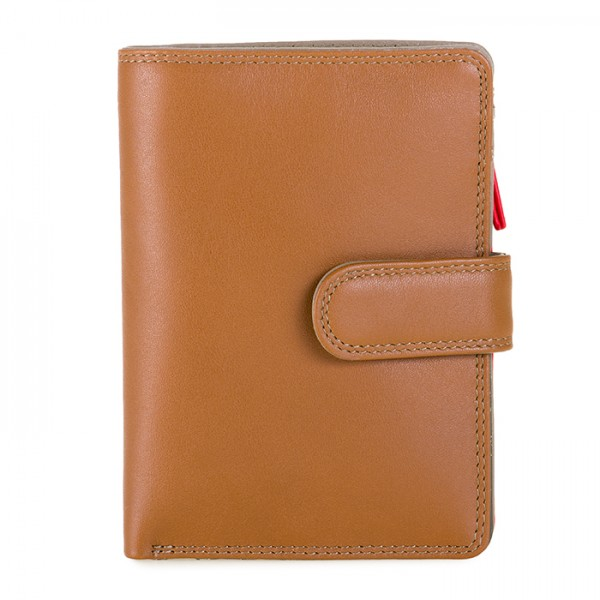 Medium Snap Wallet Caramel