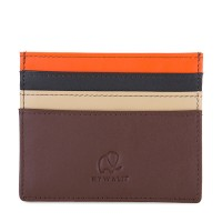 Small C/C Oystercard Holder Cacao