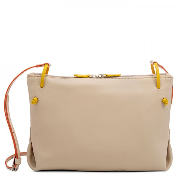Rio Slouch Bag Orange Cream