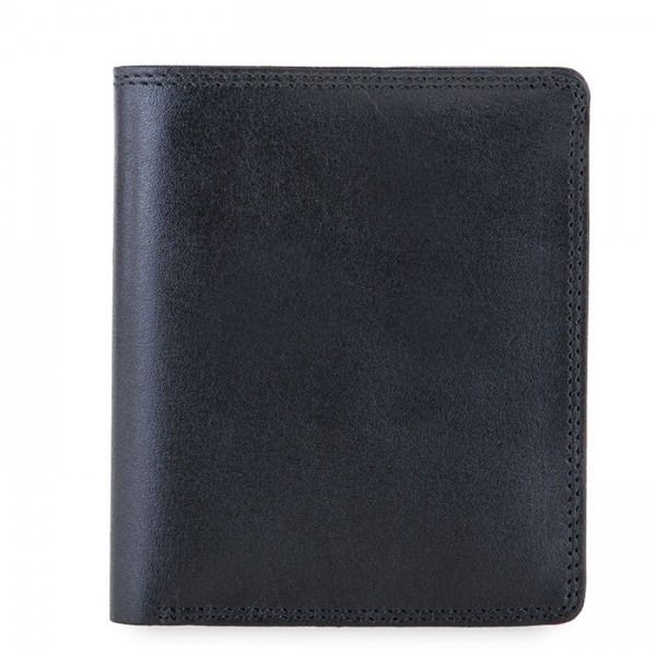 RFID Classic Men's Wallet Black-Blue