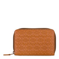 Elefante Zip Around Wallet Tan