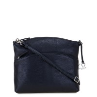 Cremona Rounded Cross Body Black