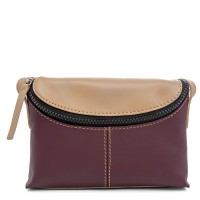 Catania Small Cross Body Maroon