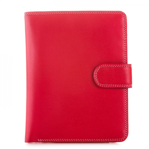 Large Snap Wallet Ruby