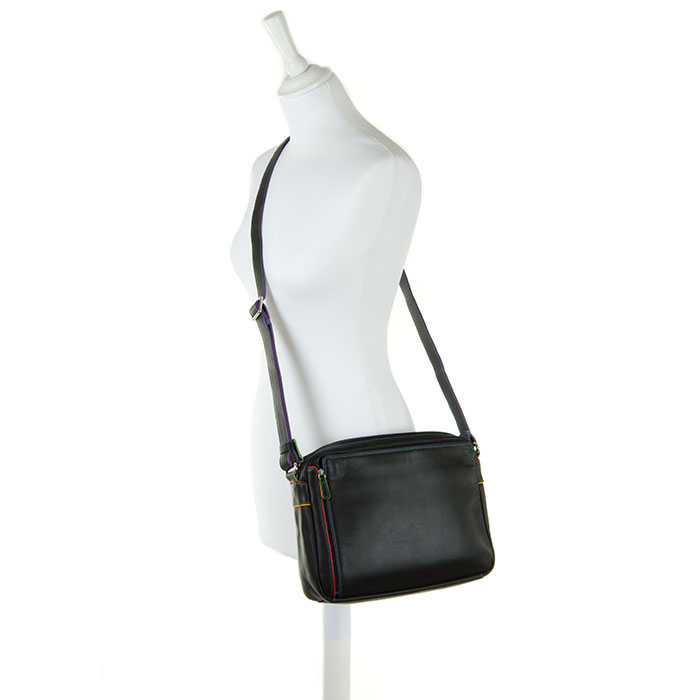 f4cb76161802 ... Preview  Medium Organiser Cross Body Bag Black Pace ...