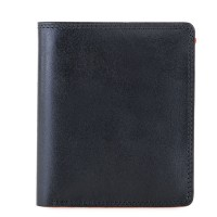 RFID Classic Men's Wallet Black-Orange