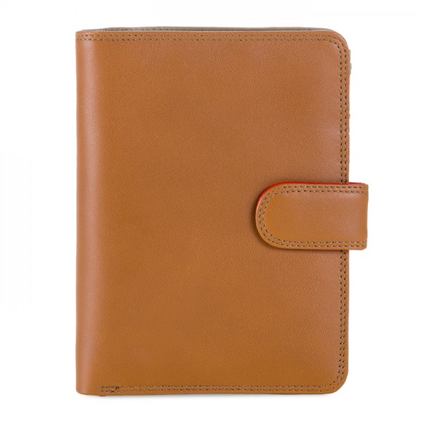 Large Snap Wallet Caramel