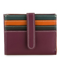 Small Tab Card Wallet Chianti