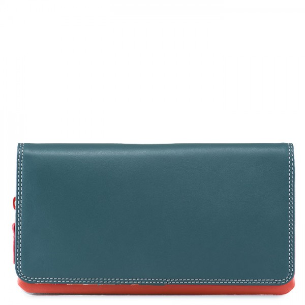 Flapover Wallet with Coin Section Urban Sky