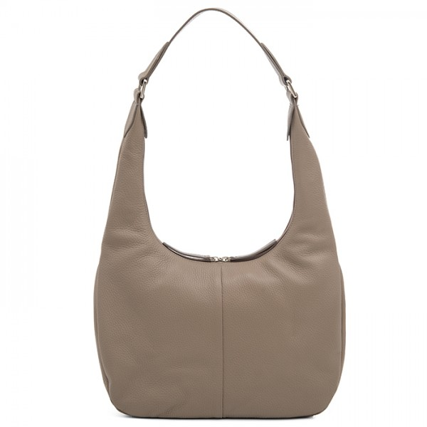 Bergamo Medium Shoulder Bag Stone