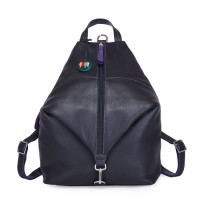 Naples Two-Way Backpack Black