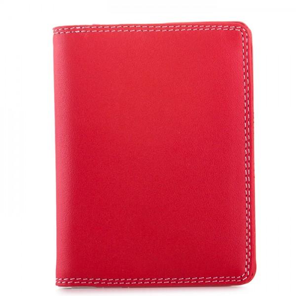 Porta carte di credito con inserti in plastica Ruby
