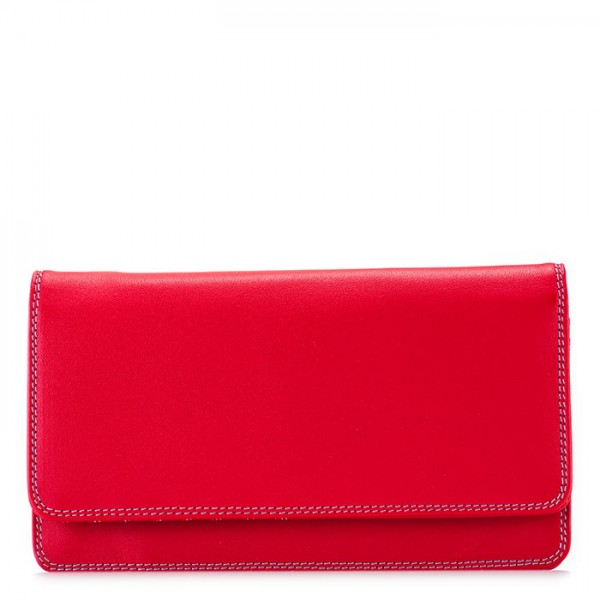 RFID Medium Matinee Wallet Red
