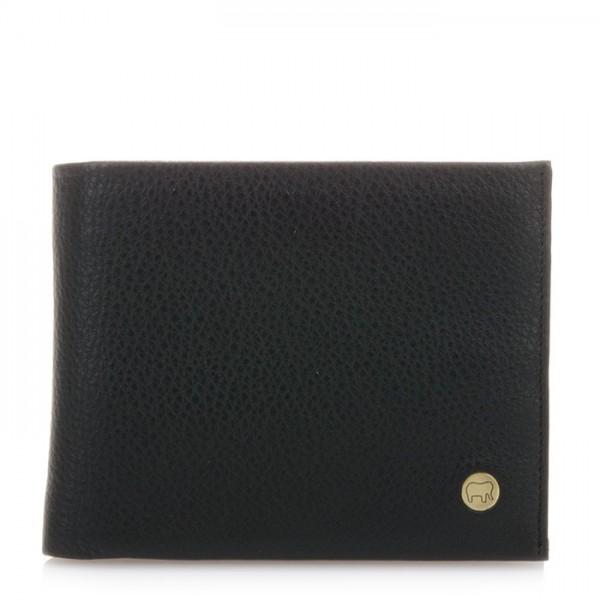 Panama Wallet with Inner Leaf Black