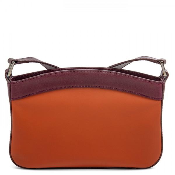 Siracusa Small Shoulder Bag Chianti