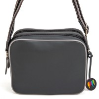 Auckland Double Zip Camera Bag Grey